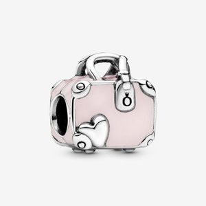 Pandora Jewelry - Pandora Pink Travel Bag Charm